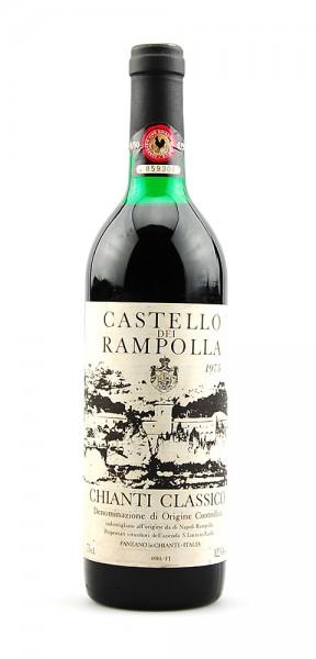 Wein 1975 Chianti Classico Castello dei Rampolla