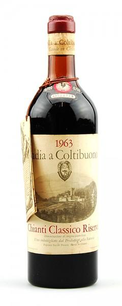 Wein 1963 Chianti Classico Badia a Coltibuono Riserva