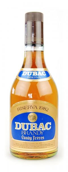 Brandy 1982 Dubac Riserva Landy Freres