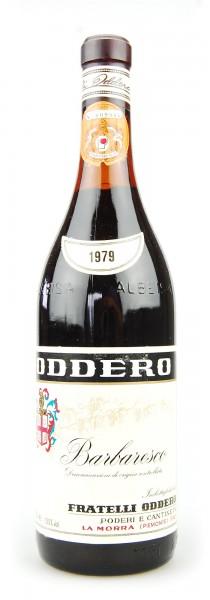 Wein 1979 Barbaresco Fratelli Oddero