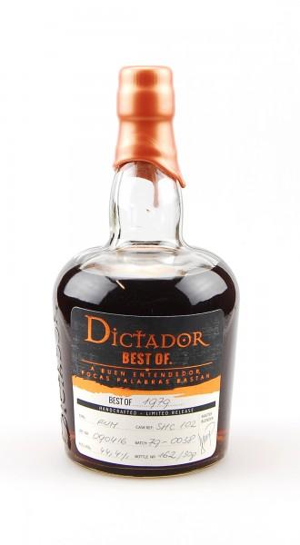 Rum 1979 Dictador Vintage Single Cask 37 Jahre