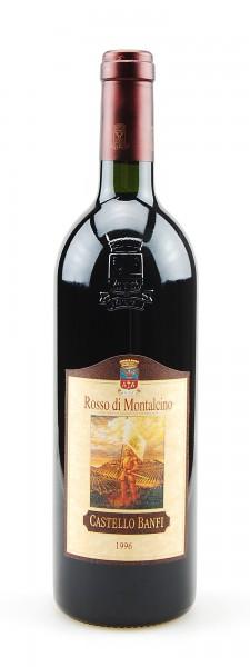 Wein 1996 Rosso di Montalcino Castello Banfi