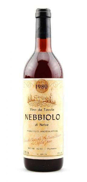 Wein 1980 Nebbiolo d´Neive Fontana Bianco