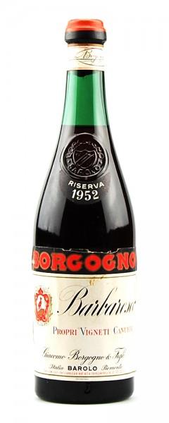 Wein 1952 Barbaresco Giacomo Borgogno Riserva
