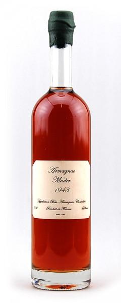 Armagnac 1943 Bas-Armagnac Mader