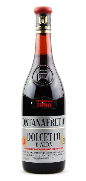 Wein 1980 Dolcetto d-Alba Fontanafredda