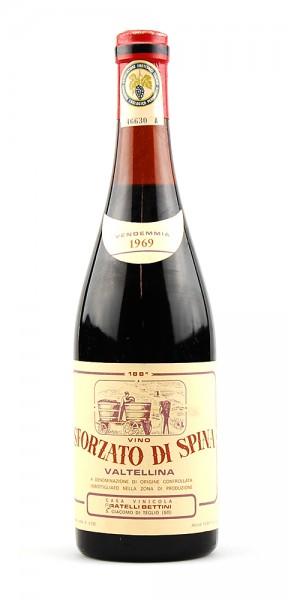 Wein 1969 Sforzato di Spina Fratelli Bettini