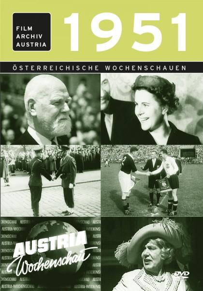 DVD 1951 Chronik Austria Wochenschau in Holzkiste