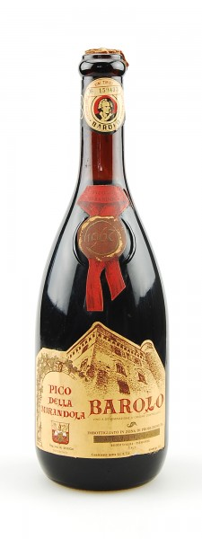 Wein 1967 Barolo Pico della Mirandola