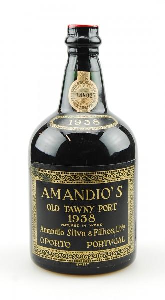 Portwein 1938 Amandio Silva Old Tawny Port