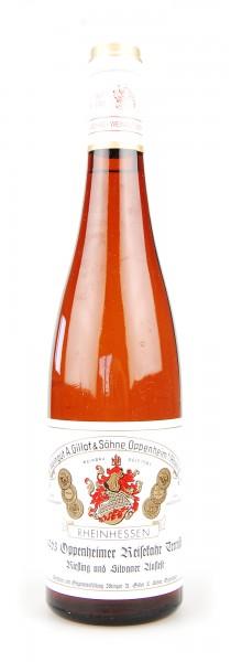 Wein 1963 Oppenheimer Reisekahr Terrasse Auslese