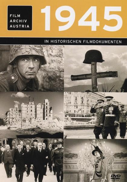 DVD 1945 Chronik Austria Wochenschau in Holzkiste