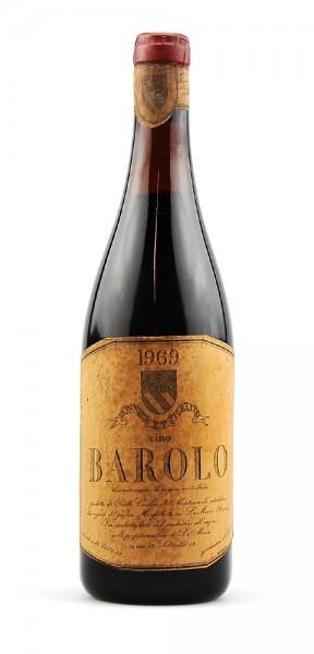 Wein 1969 Barolo Montezemolo Monfaletto