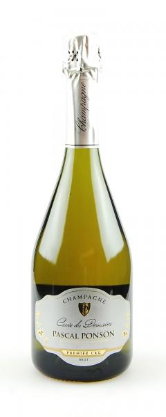 Champagner Cuvee du Domaine Pascal Ponson brut