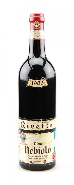 Wein 1966 Nebiolo Ercole Rivetto
