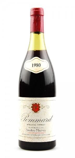 Wein 1980 Pommard Andre Morey