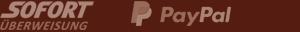 Logo Paypal und Sofort
