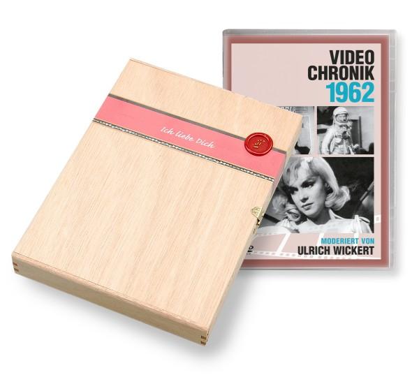 DVD 1962 Chronik Deutsche Wochenschau in Holzkiste