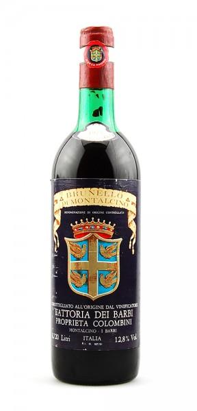Wein 1975 Brunello di Montalcino Fattoria dei Barbi