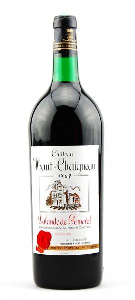 Wein 1967 Chateau Haut-Chaigneau Lalande de Pomerol