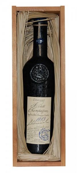 Cognac 1973 Lheraud in Holzkiste