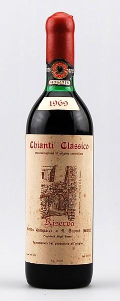 Wein 1969 Chianti Classico Riserva Campacci