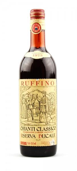 Wein 1973 Chianti Classico Ruffino Riserva Ducale