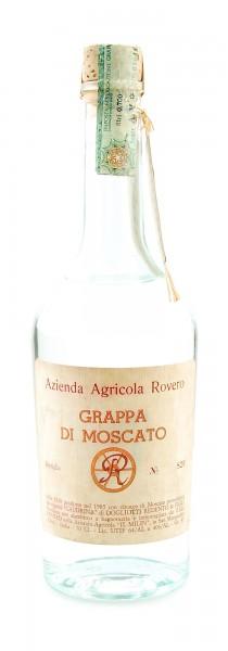 Grappa 1985 di Moscato Azienda Agricola Rovero