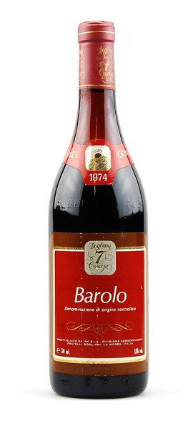 Wein 1974 Barolo Fratelli Dogliani 7Cascine