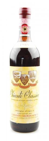 Wein 1985 Chianti Classico Geografico