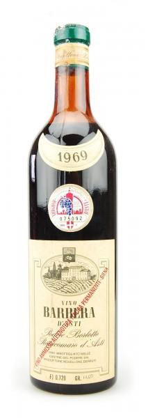 Wein 1969 Barbera d´Asti Podere Borlotto