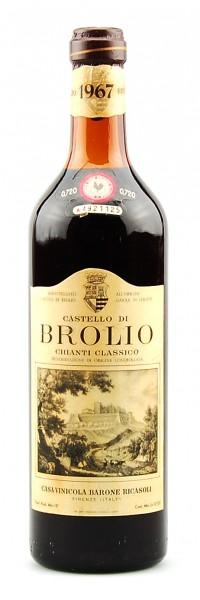Wein 1967 Chianti Classico Brolio Ricasoli