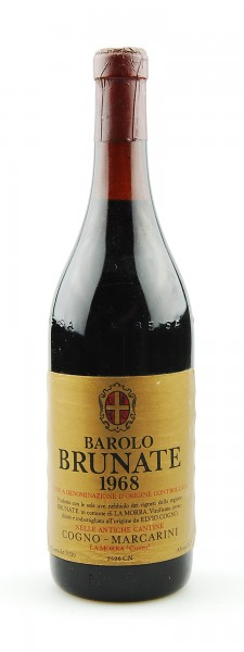 Wein 1968 Barolo Brunate Cantine Marcarini