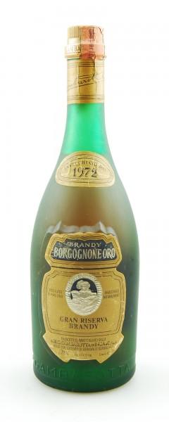 Brandy 1972 Borgognone Oro Gran Riserva Gambarotta