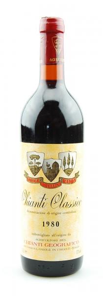 Wein 1980 Chianti Classico Geografico
