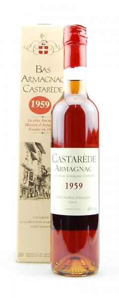 Armagnac 1959 Bas Armagnac Castarede