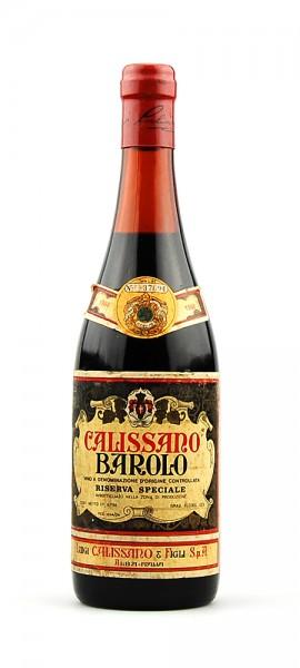 Wein 1968 Barolo Calissano Riserva Speciale