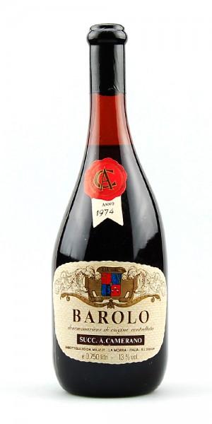 Wein 1974 Barolo Camerano