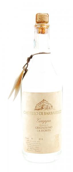 Grappa 1984 di Grignolino La Fiorita Castello di Barbaresco