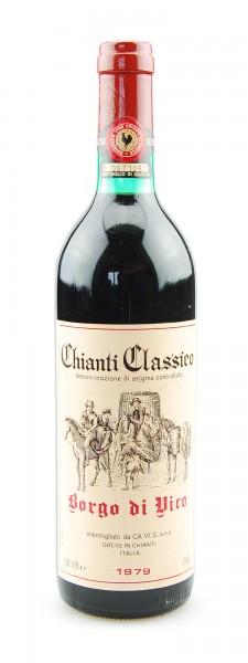 Wein 1979 Chianti Classico Borgo di Vico