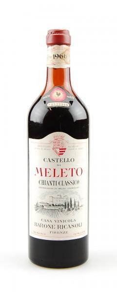 Wein 1966 Chianti Classico Castello di Meleto