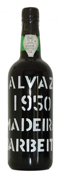 Madeira 1950 Barbeito Malvazia