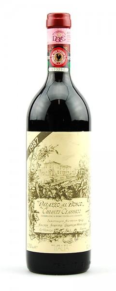 Wein 1987 Chianti Classico Palazzo al Bosco