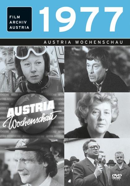 DVD 1977 Chronik Austria Wochenschau in Holzkiste