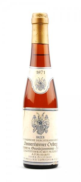 Wein 1971 Dossenheimer Oelberg Auslese
