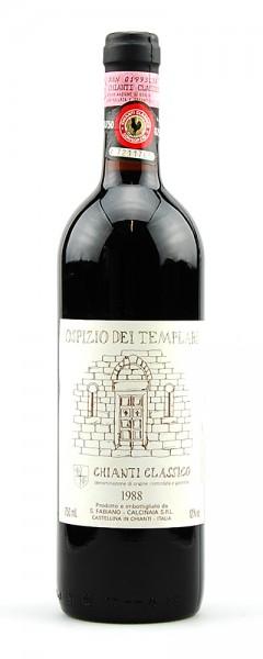 Wein 1988 Chianti Classico Ospizio dei Templari Fabiano