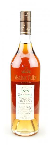 Cognac 1979 Maxime Trijol Fins Bois