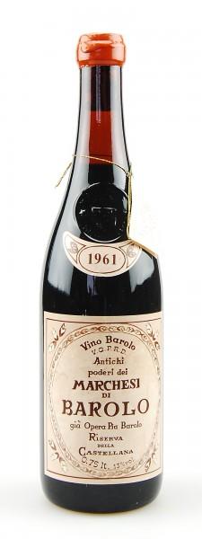 Wein 1961 Barolo Riserva Marchesi di Barolo Gia Opera