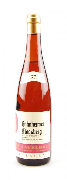 Wein 1971 Hahnheimer Moosberg Spätlese