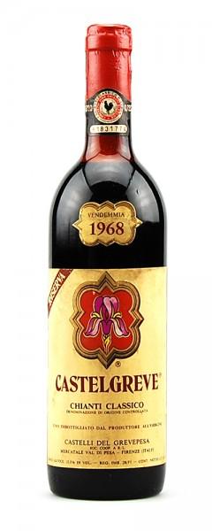 Wein 1968 Chianti Classico Riserva Castelgreve